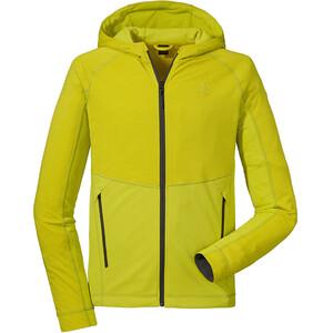 Schöffel Corrientes Fleece Hoodie Herren gelb gelb