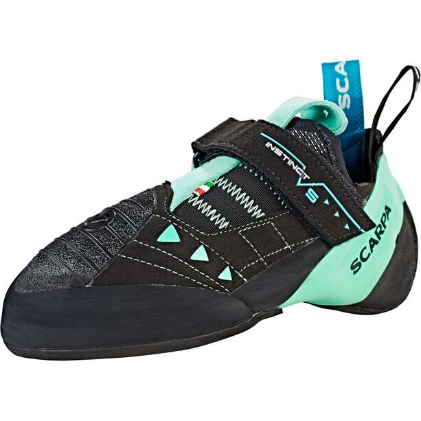 Scarpa Instinct VS Climbing Shoes Dam black-aqua