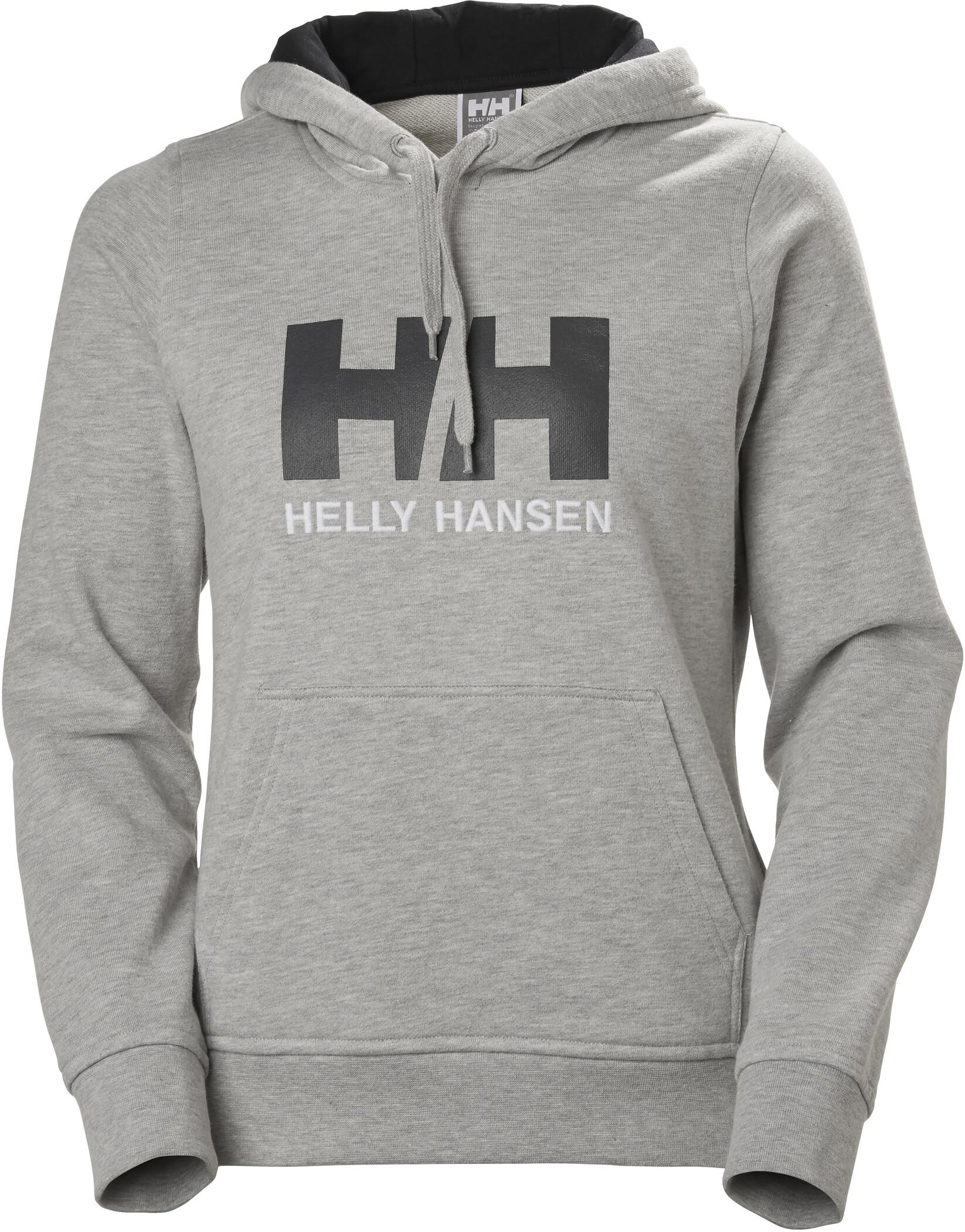 Helly Hansen HH Logo Hoodie Dam grey melange