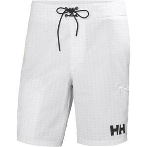 "Helly Hansen HP Board Shorts 9"" Herr vit vit"