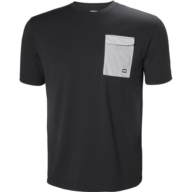 Helly Hansen Lomma T-shirt Herr ebony