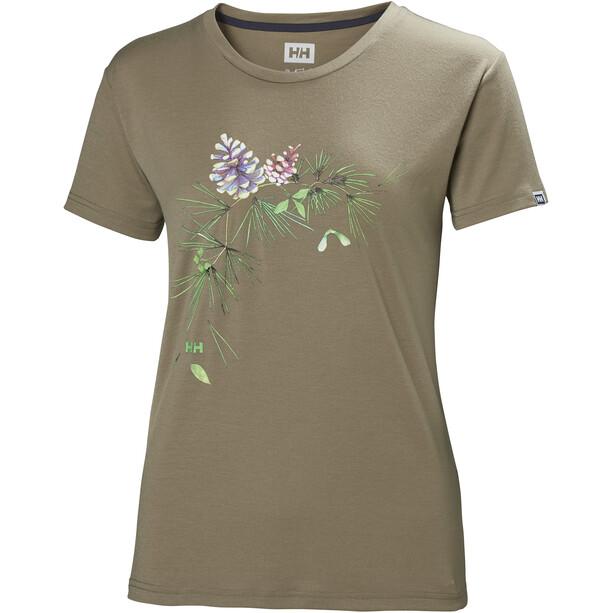 Helly Hansen Skog Graphic T-shirt Dam fallen rock