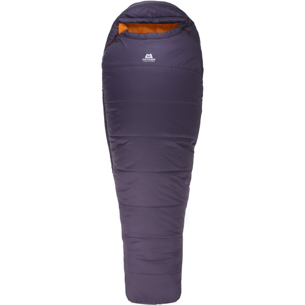 Mountain Equipment Starlight I Sleeping Bag Long Women, aubergine/blaze