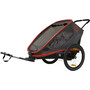 Hamax Outback Bike Trailer red/charcoal