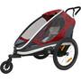 Hamax Outback One Bike Trailer grå/röd