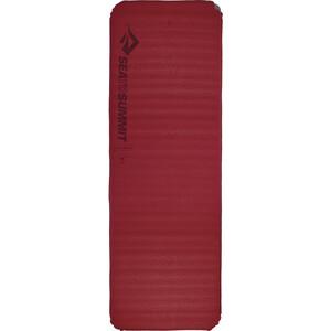 Sea to Summit Comfort Plus Colchoneta autoinflable Rectangular Largo, rojo rojo