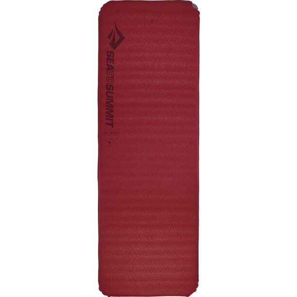 Sea to Summit Comfort Plus Selbstaufblasende Matte Rectangular Large red