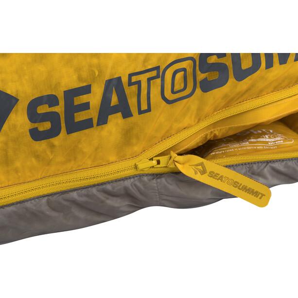 Sea to Summit Spark SpII Sleeping Bag long gul/grå