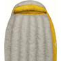 Sea to Summit Spark SpIII Schlafsack Long light grey/yellow