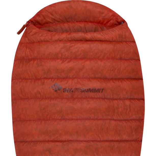 Sea to Summit Flame Fm0 Schlafsack Long Damen paprika