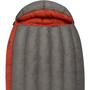 Sea to Summit Flame FmII Sac de couchage Long Femme, gris/rouge