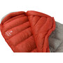 Sea to Summit Flame FmIII Schlafsack Long Damen light grey/paprika