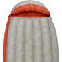Sea to Summit Flame FmIII Sleeping Bag long Women light grey/paprika