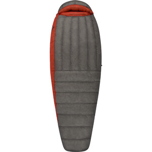Sea to Summit Flame FmIV Schlafsack regular Damen dark grey/paprika dark grey/paprika
