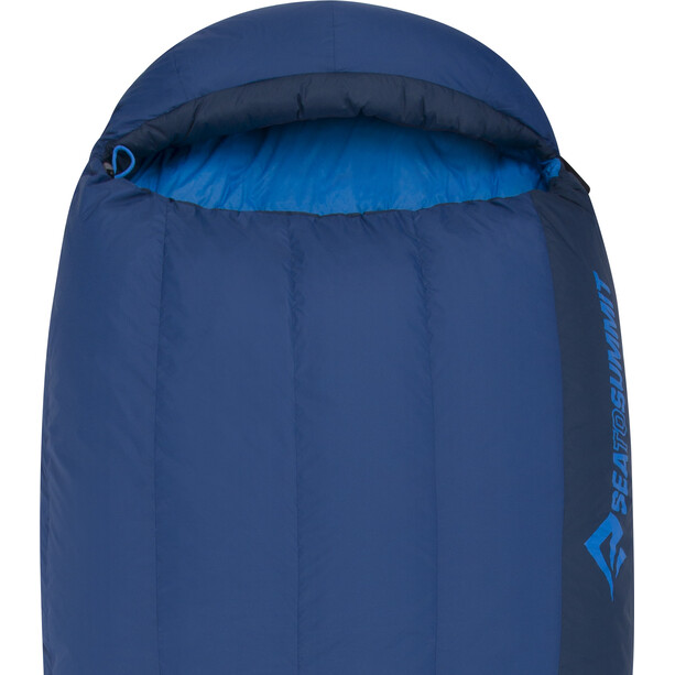 Sea to Summit Trek TkII Schlafsack Long denim/navy