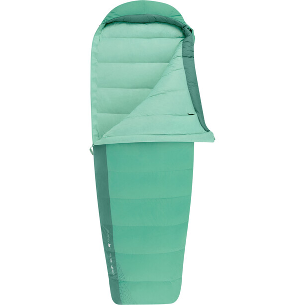 Sea to Summit Journey JoI Schlafsack Long Damen peacock/emerald