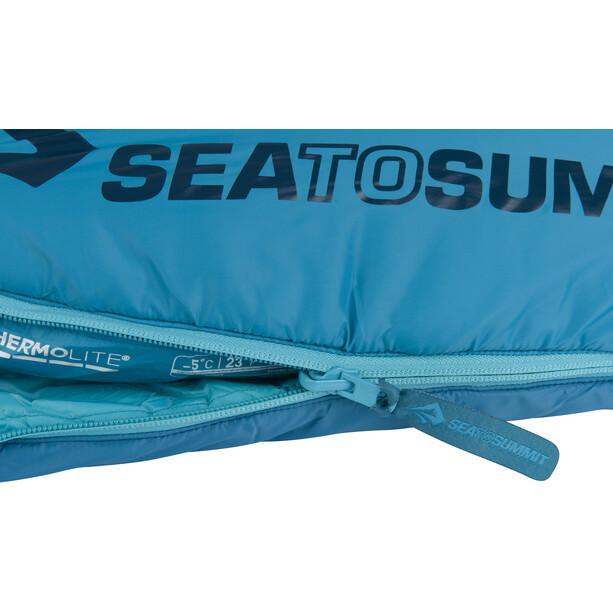 Sea to Summit Venture VtII Schlafsack Long Damen aegean/carribean