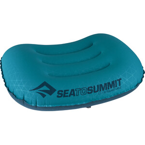 Sea to Summit Aeros Ultralight Almohada L, Turquesa/azul Turquesa/azul