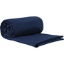 Sea to Summit Premium Cotton Travel Liner Long Rectangular blau