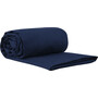 Sea to Summit Premium Cotton Travel Liner Double navy blue