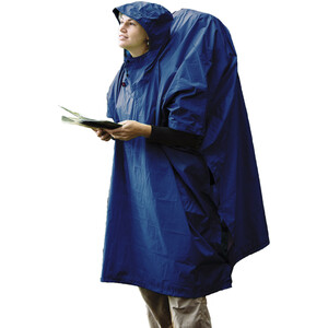 Sea to Summit 70D Tarp Poncho blue blue
