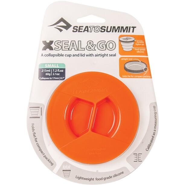 Sea to Summit X-Seal & Go Lebensmittelbehälter Small orange