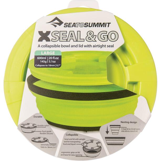 Sea to Summit X-Seal & Go Lebensmittelbehälter Large lime