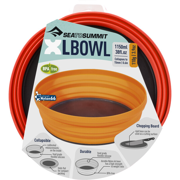 Sea to Summit XL-Bowl red