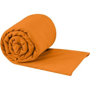Sea to Summit Pocket Handtuch L orange orange
