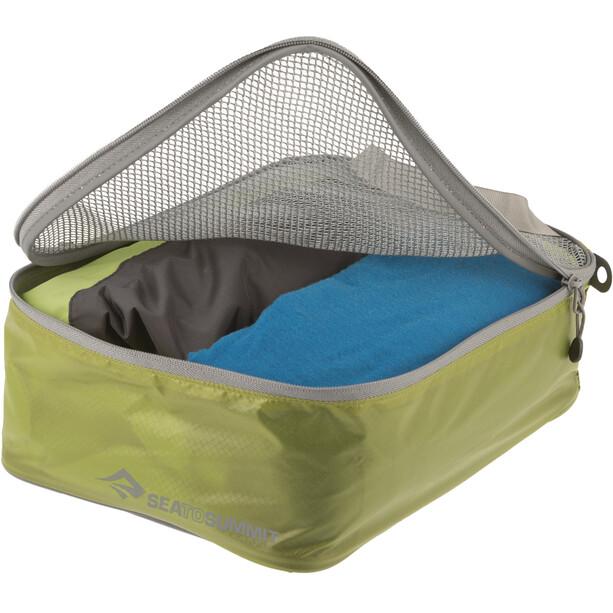Sea to Summit Garment Mesh Bag Small lime/grey