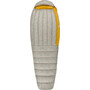 Sea to Summit Spark SpI Sleeping Bag Long Herr light grey/yellow