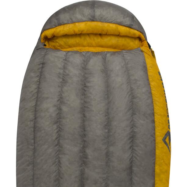 Sea to Summit Spark SpII Sleeping Bag Long Herr dark grey/yellow