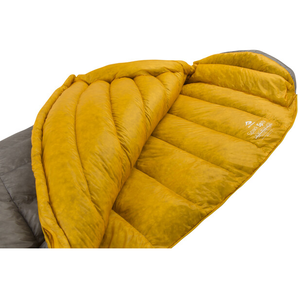Sea to Summit Spark SpIV Sleeping Bag Regular dark grey/yellow