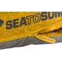 Sea to Summit Spark SpIV Sleeping Bag Long Herr dark grey/yellow