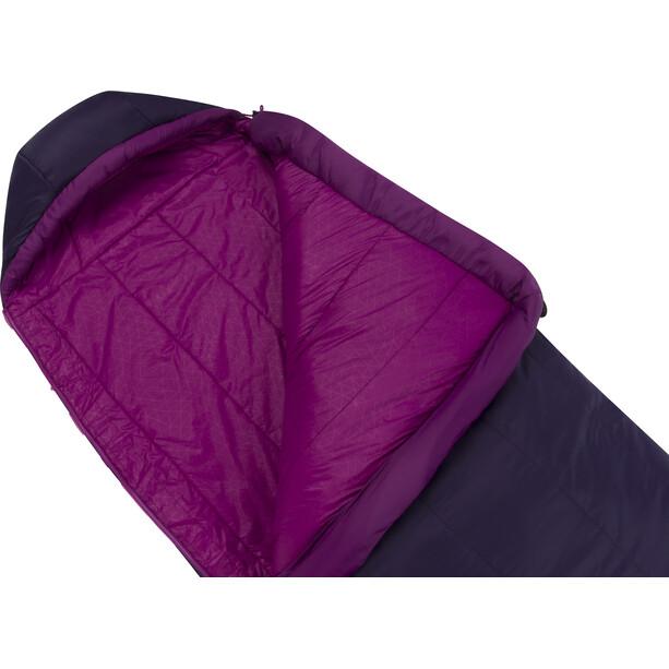 Sea to Summit Quest QuII Sleeping Bag Regular Dam blackberry/grape