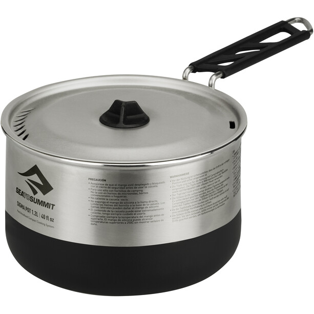 Sea to Summit Sigma Pot 1,2l silver