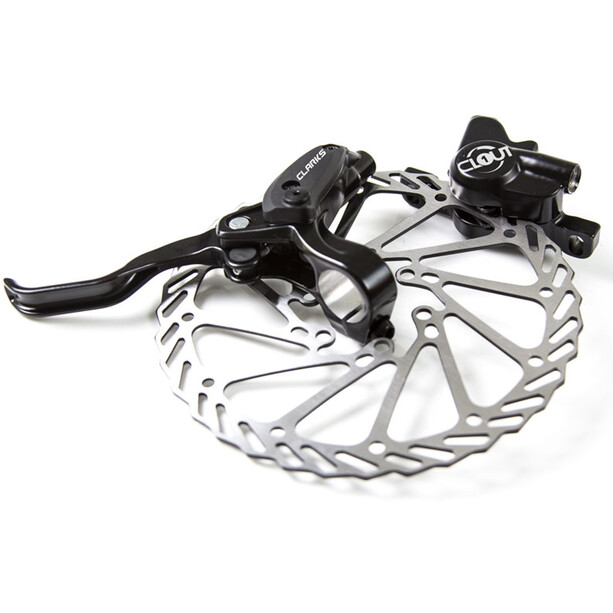 Clarks Clout 1 Hydraulic Disc Brake Set + 160mm Rotors