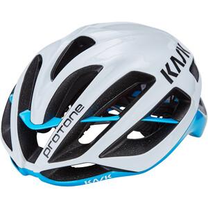 Kask Protone Helm weiß/hellblau weiß/hellblau
