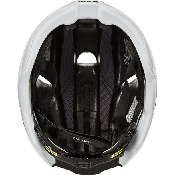 Kask Utopia Helm weiß/schwarz