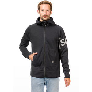super.natural Relax Zip Hood Herren jet black jet black