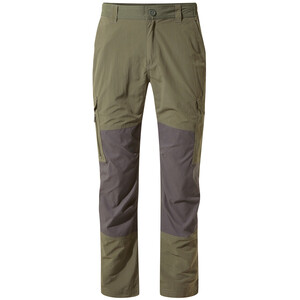 Craghoppers NosiLife Pro Adventure Trousers Herr mid khaki/black pepper mid khaki/black pepper