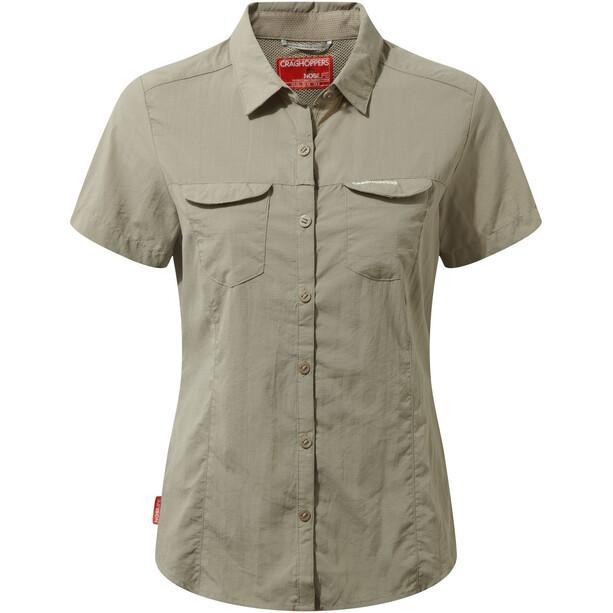 Craghoppers NosiLife Adventure II Short Sleeved Shirt Dam mushroom