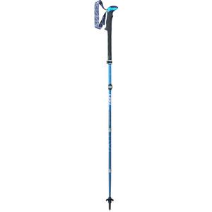 LEKI Micro Vario Carbon Vaellussauvat taittuva/kokoonlaitettava, sininen/musta sininen/musta