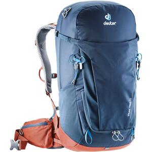 Deuter Trail Pro 32 Backpack Herr midnight/lava midnight/lava