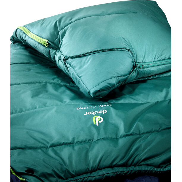 Deuter Starlight Pro Sleeping Bag Barn alpinegreen/navy