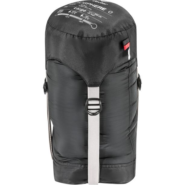 Deuter Exosphere 0° L Sleeping Bag black/fire
