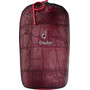 Deuter Exosphere -4° Sleeping Bag cranberry/fire