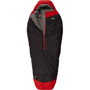 The North Face Inferno -40F/-40C Schlafsack Lang asphalt grey/cntenil red asphalt grey/cntenil red