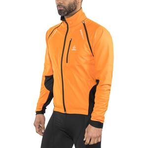 Löffler San Remo WS Softshell Zip-Off Fahrrad Jacke Herren orange orange