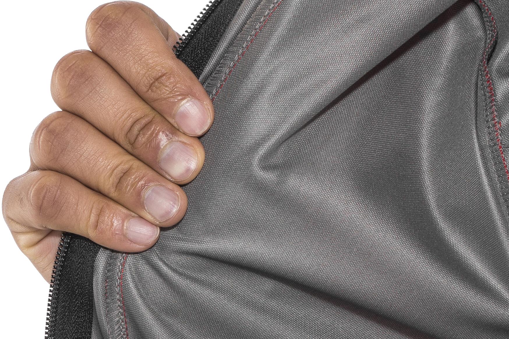 Löffler San Remo WS Softshell Zip Off Fahrrad Jacke Herren rot